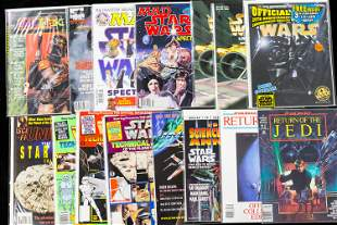 Star Wars and MAD Star Wars Magazines and Related