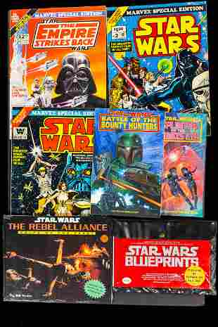Marvel Special Editions and Star Wars Books