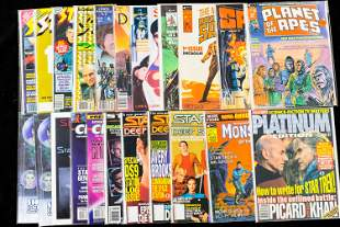 Planet of the Apes #1, Star Trek and Scifi Comics