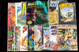 Space and SciFi Books and Magazines