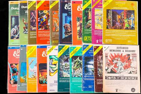 Vintage Advanced Dungeons and Dragons