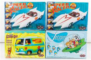 Polar Lights Vintage TV Show Model Kits (4)