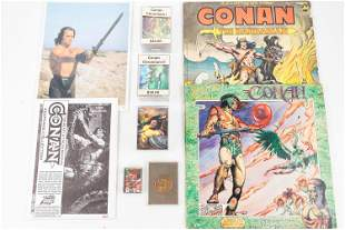 Collector Cards (Non Sports), Records from Conan