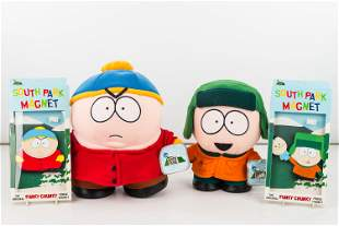 South Park Kyle and Cartman Dolls/Magnets