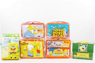 Simpson's Lunch Boxes & Related Items NIP