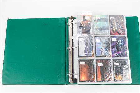 Special Collector Cards (>250) in Notebook