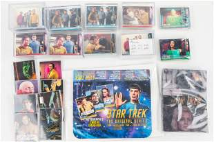 Star Trek Collector Cards and Autographs