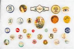 Masonic and Other Vintage Pin Backs