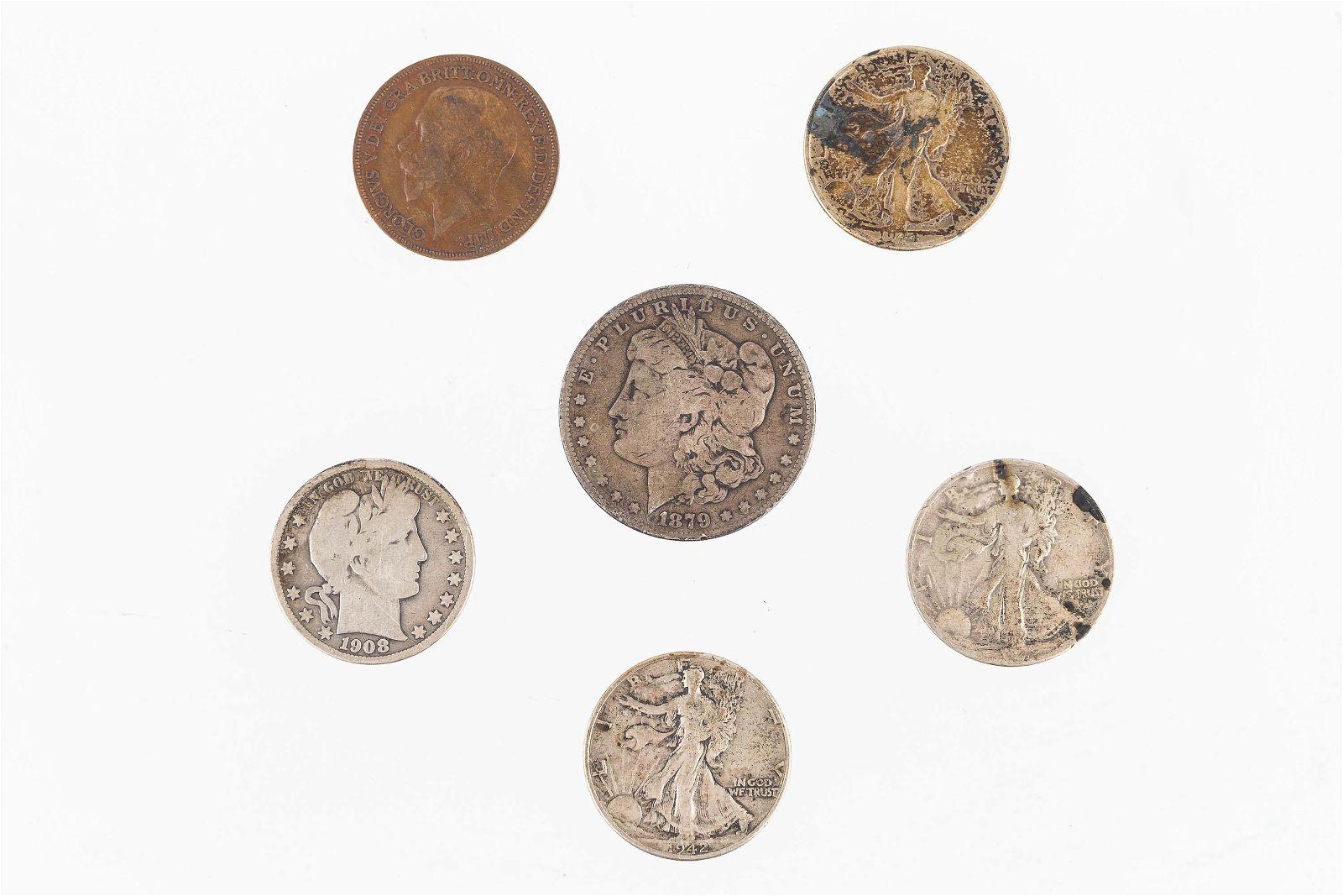 Vintage Silver U.S. Coins