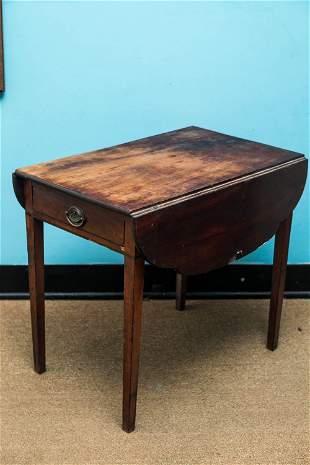 18/19th C Pembroke Table