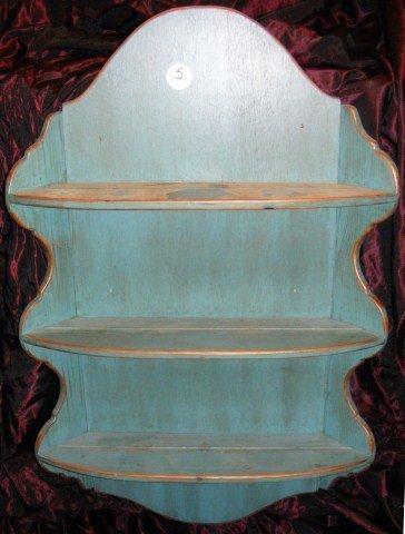 5: Painted Hanging Shelf