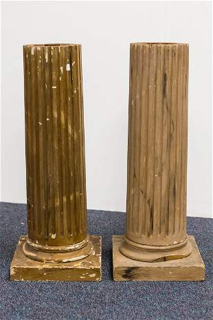 Pair of Architectural Pillars