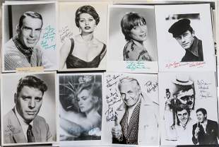 Autographed Photos of Actors & Actresses