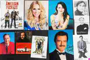 Autographed Photos of Actors and Actresses