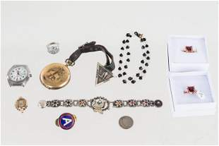 Variety of Jewelry and Watches