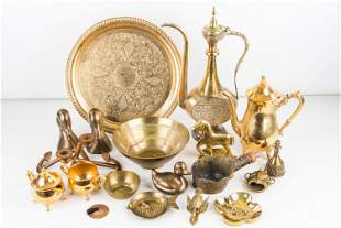 Brass and Brass Plated Items