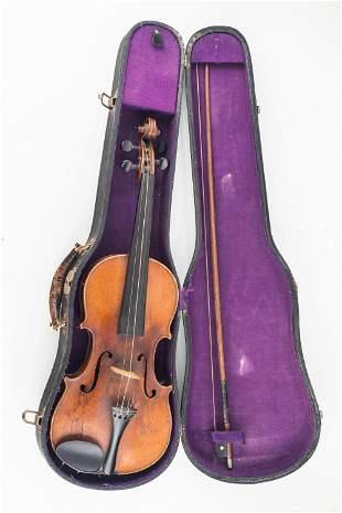 Vintage Full Size Violin w/ Case