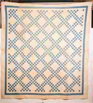 Hand Stitched Quilt Late 19/early 20th C