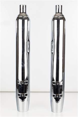 Pair of Harley Davidson FLT/Down Mufflers