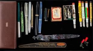 Vintage Pens and Pencils