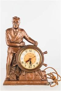 "FDR ""The Man of the Hour"" Clock"