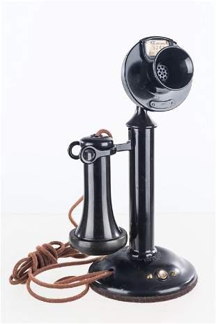 A Vintage Candlestick Phone