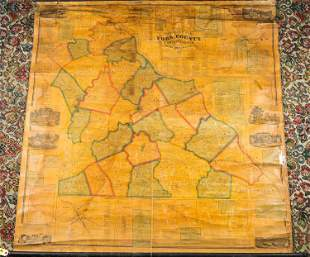 Shearer's Map of York County, PA 1860