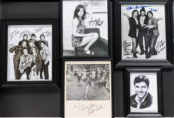 Autographed Group Actor Photos and Others