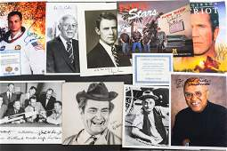 Autographed Photos of Actors, Astronauts, & Others