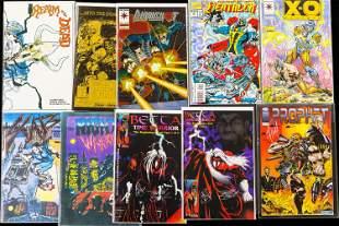 Foil and Ltd Edition Comics / Warrior Characters