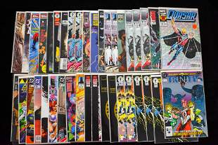 Adventure Comic Books Grouping (40 total)