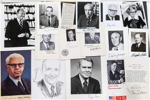 Political Autographed Photos and Related