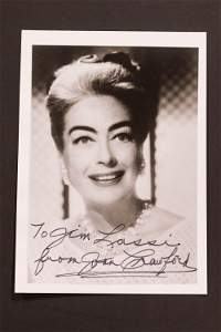 Signed Autograph of Joan Crawford
