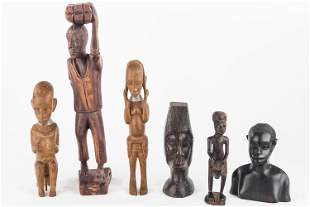 Carved African Figures