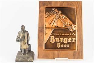 Schmidt's and Burger Beer Advertising