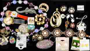 Watches and Mixed Costume Jewelry
