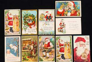 Vintage Santa and Other Christmas Cards