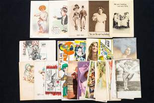 Vintage Humorous and Other Postcards