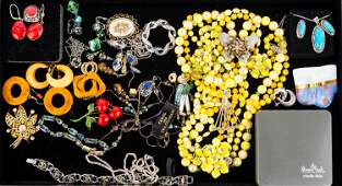 Mixed Vintage Costume Jewelry