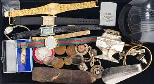 Ladies Watches, Zippo, and Mixed Grouping