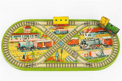 Technofix Tin Litho Train Set