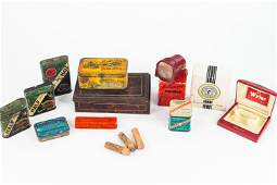 Vintage Tobacco Tins and Other Advertising