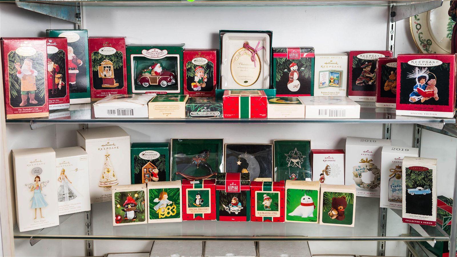 Hallmark Christmas Ornaments (30+)