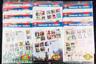 """""""Celebrate the Century"""" US Postal Stamps"""