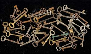 Vintage Skeleton Key Collection