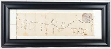 Berks Co. Land Map 1849