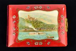 Victorian Photo Album w/ Steamship Cover