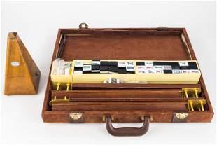 Paquet Metronome and Mahjong Set