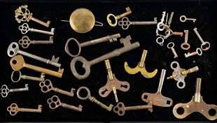 Skeleton and Clock Keys