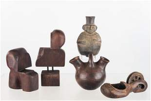 South American Pottery & Woodworking